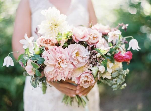 Wedding Bouquet Poppies & Posies
