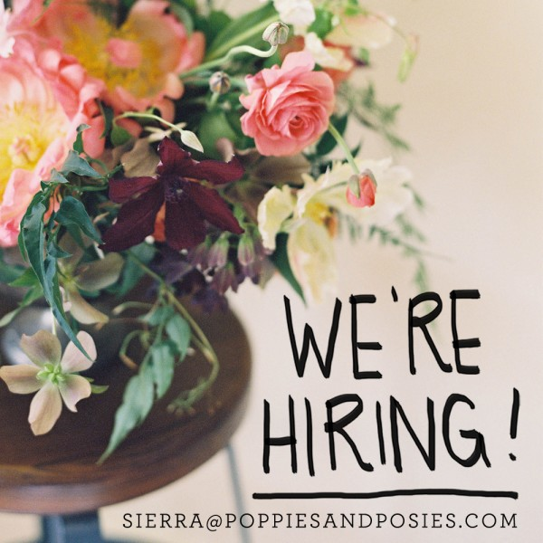 floral design & production jobs nyc
