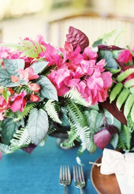 Poppies & Posies Featured in Martha Stewart Weddings