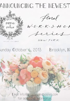 NYC Floral Workshop