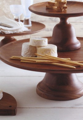 Wooden Cake Stand Rental NYC
